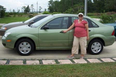 Kiwi Green Ford Focus